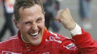 Michael Schumacher despertó del coma y logró reconocer a su esposa