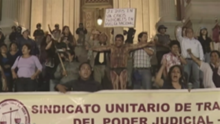 Corte Suprema pidió mesa de diálogo para solucionar huelga del PJ