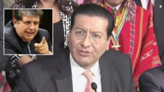 Alan García y Carlos Paredes se enfrentan por Línea 2 del Metro de Lima