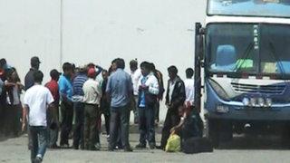 Delincuentes asaltaron a mano armada buses interprovinciales en Cusco