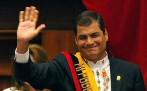 Ecuador: Critican proyecto de presidente Correa que permitiría su reelección