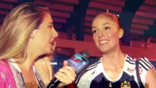 Voleybolistas de la San Martín celebran primer título nacional