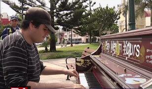 Pianos invaden Lima: conozca todo sobre el proyecto musical que llegó al Perú