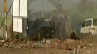 Iraq: video registra explosión de cochebomba en el centro de Bagdad