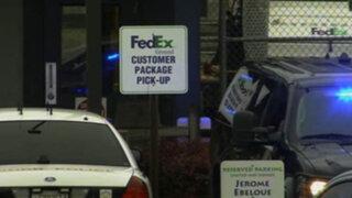 EEUU: balacera en una empresa de mensajería deja seis heridos