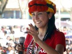 Nadine Heredia realizará gira nacional para fortalecer el partido nacionalista