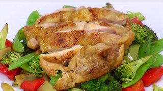 Aprenda a cocinar un nutritivo y delicioso pollo salteado con vegetales