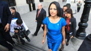 Gira política de Nadine Heredia generó revuelo en el Congreso