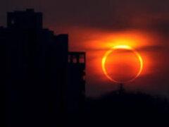 Enemigos Públicos: la Tierra fue testigo de un eclipse anular del Sol