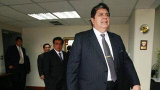 Alan García acudió al penal Castro Castro para declarar por el caso Accomarca
