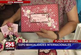 San Miguel inauguró feria 'Expo Manualidades Internacional 2014'