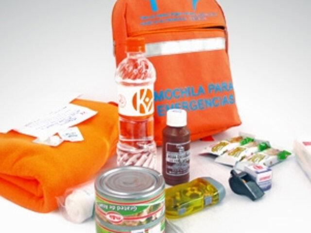 Terremoto en Perú: ¿Qué es lo que debe tener una mochila de emergencia?