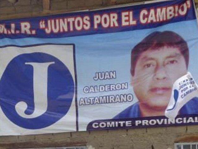 Áncash: delincuentes balearon camioneta de opositor de César Álvarez
