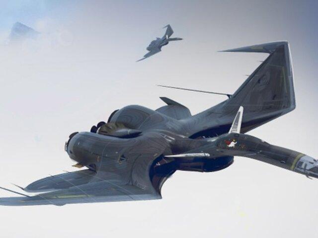 FOTOS: increíbles aviones que parecen depredadores del cielo