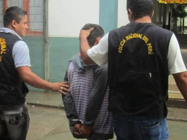 Canillita asesinó a su padre a puñaladas en Trujillo