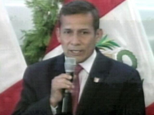 Presidente Ollanta Humala inaugurará la Feria del Libro en Colombia