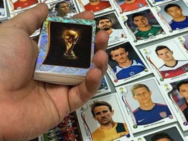 Locos por el Mundial: se roban 300,000 figuritas del álbum de Brasil 2014