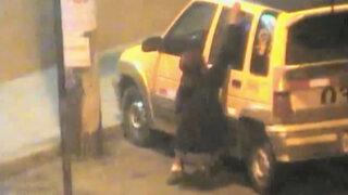 """Capturan a delincuente """"La Pantera Rosa"""" que robaba autos en Chimbote"""