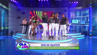 La orquesta Son de Iquitos interpretó su reciente éxito 'Eres una basura'