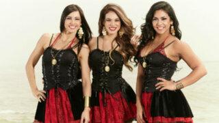 Paloma Fiuza, Jazmín Pinedo y Vania Bludau se estrenaron como Las Capitanas