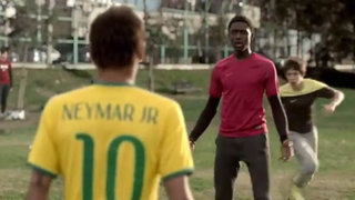 "¿Imaginas cómo sería jugar una ""pichanga"" siendo Neymar, Ronaldo o Ibrahimovic?"