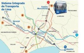 En julio se adjudicará buena pro de nuevos corredores complementarios de Lima