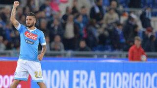 Napoli se llevó la Copa Italia en partido opacado por la violencia