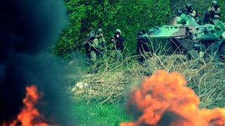 Crisis en Ucrania: guerra civil fragmenta el país y deja más de 40 muertos