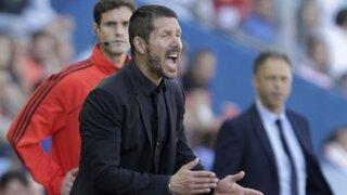 """Diego Simeone aseguró que """"La derrota es lo mejor que nos podía pasar"""""""