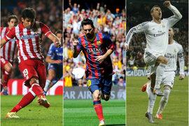 Liga española: las posibilidades del Atlético, Real y Barcelona para campeonar