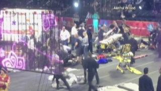 EEUU: acróbatas sufren impactante accidente en pleno espectáculo circense
