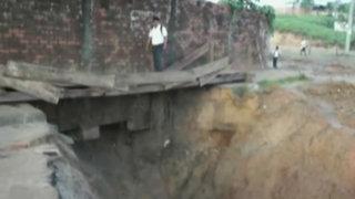 Yurimaguas: diez asentamientos humanos aislados por derrumbe de carretera