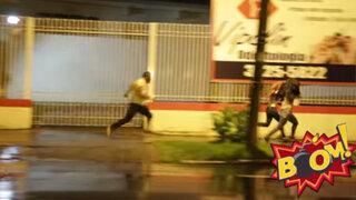 Macabra broma: zombie causa pánico en las calles de Brasil