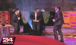 Elenco de X-Men bailó al ritmo de 'Blurred Lines' en programa de TV