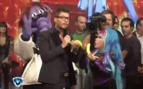 Argentina: La Tigresa del Oriente visitó a Marcelo Tinelli en Show Match