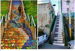 FOTOS: las 15 escaleras más bellas y coloridas alrededor del mundo