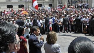 Nacionalistas aseguran que no hubo proselitismo en mitin por fallo de La Haya