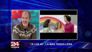 Carlos Alcántara cuenta detalles del éxito de la película 'A los 40'