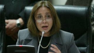 Ministra de Salud Midori de Habich renunció antes de inminente censura