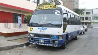 Municipio de Lima canceló de manera definitiva ruta de 'El Chosicano'