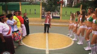 Así fue el emocionante partido entre las Mamachas y las Chicas Doradas de Italia