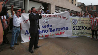 Trabajadores judiciales levantan huelga y retoman labores este lunes