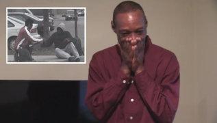 Mendigo que protagonizó famoso viral de la lotería recibió casa de regalo