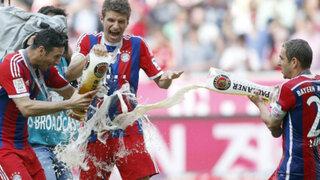 Bayern Múnich campeón de la Bundesliga: Pizarro cerró con gol la temporada