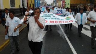Neptalí Santillán: Huelga médica se debe a un protagonismo político de médicos