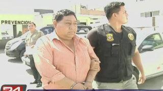 Capturan a delincuente que extorsionaba a sus víctimas tras robarle sus vehículos