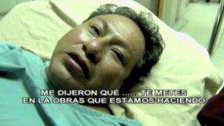 Comas: delincuentes masacran a golpes a dirigente de Construcción Civil