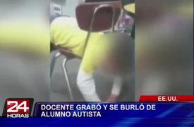 Estados Unidos: suspenden a maestra que se burló de niño autista