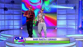 Baby Rasta y Gringo interpretaron su exitoso tema 'Me niegas'