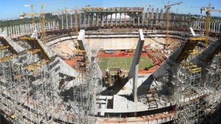 Brasil 2014: denuncian corrupción en construcción de estadio mundialista
